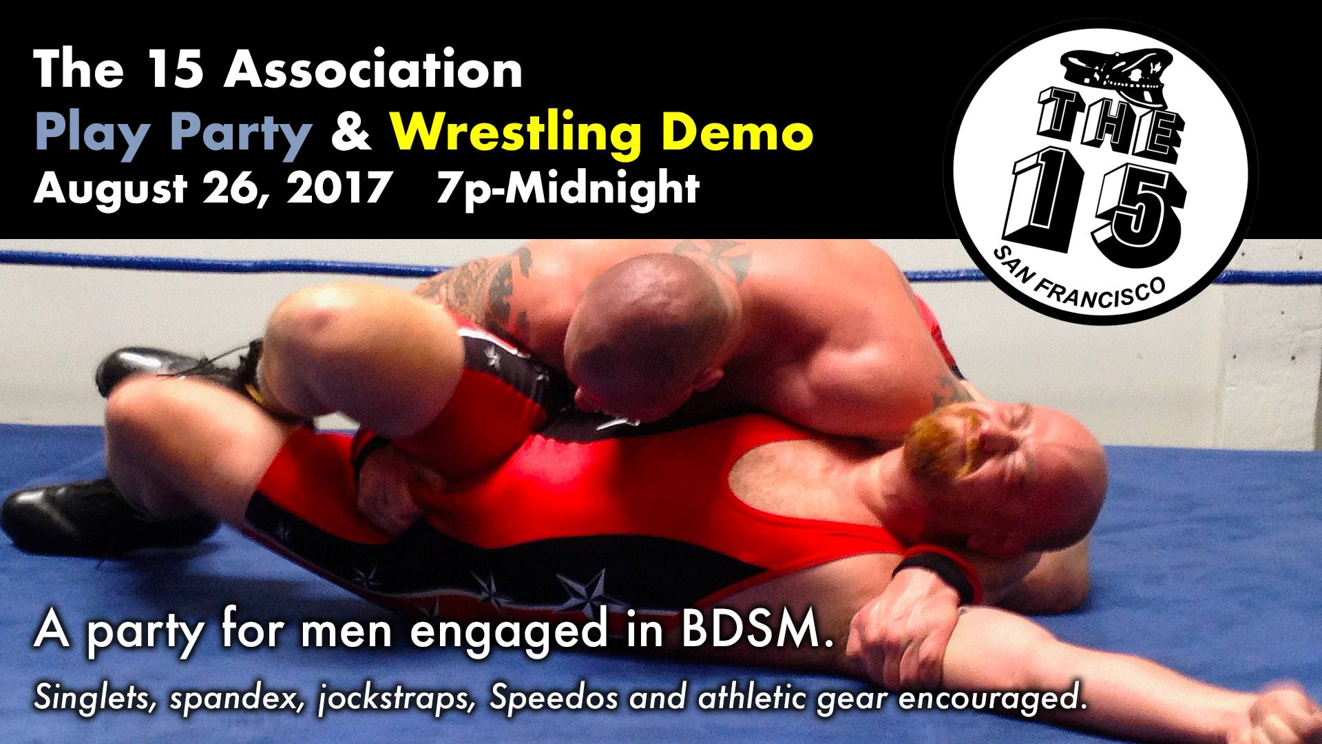 Wrestling Demo at August Party
